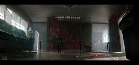 Staircase Drawings by Crime Scene By Andreewallin On Deviantart