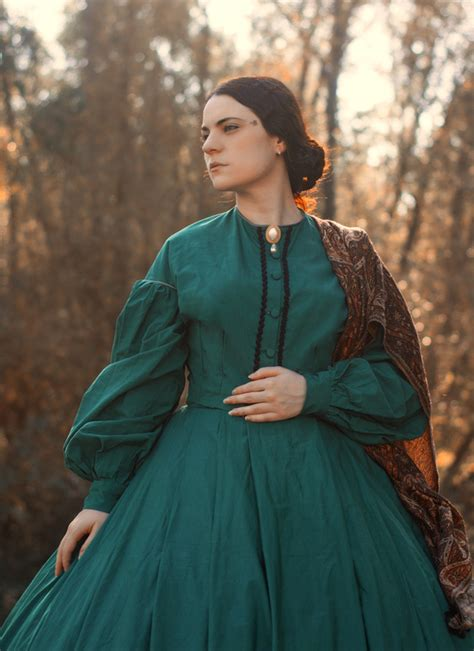 Historical Pattern Review | butterick 5831 misses historical dress