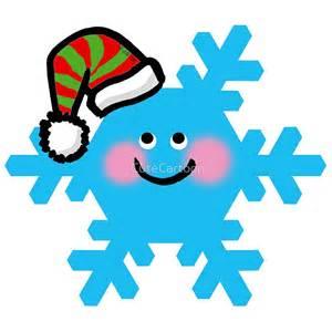 quot merry christmas blue snowflake cartoon quot by cutecartoon redbubble