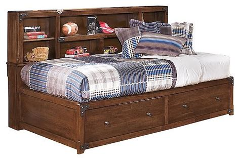 delburne full bookcase bed the delburne youth captains bed w storage from ashley