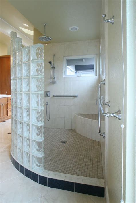 Master Bathrooms With Walk In Showers Walk In Shower Master Bath Do Able Pinterest
