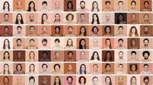 human skin color human skin color charts demolish racism