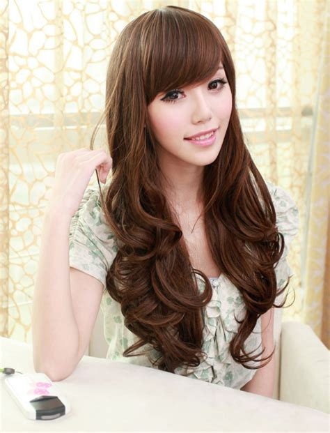 hairstyle for long face korean hairstyle for round face asian girl hairstyles