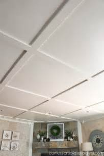Diy Coffered Ceiling Ideas Faux Coffered Ceiling Confessions Of A Serial Do It