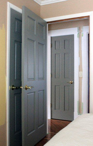 painting doors and trim different colors 25 best ideas about painted interior doors on pinterest
