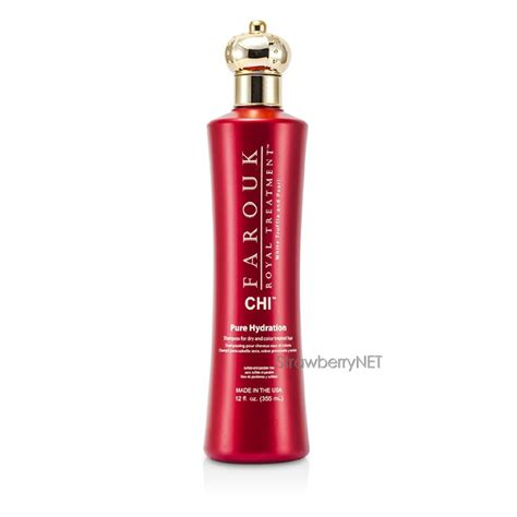 chi hair colour products official site chi farouk royal treatment pure hydration shoo dry