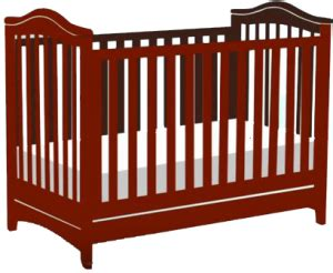 standard size baby crib measurements facts