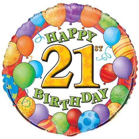 21st Birthday Foil   Balloons of London