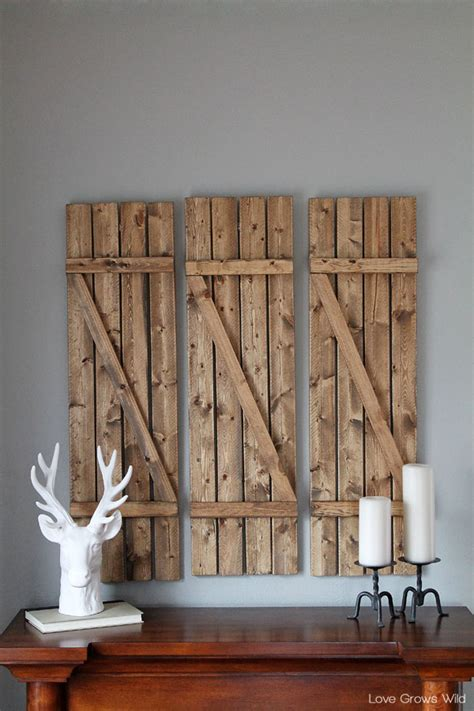 Diy Wood Home Decor 20 Diy Home Decor Ideas The 36th Avenue