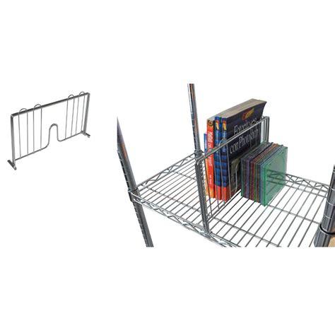 scaffali archimede separatore per libri verticale 45 cm per scaffalatura