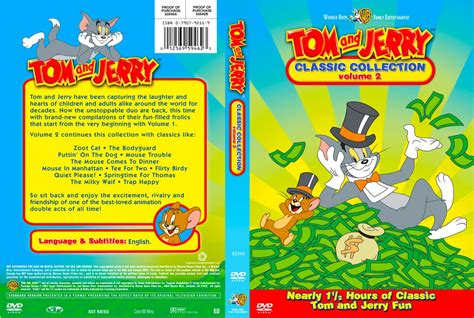 tom and jerry volume 7 classic collection new dvd region 4 australia 9325336023273 ebay tom and jerry classic collection volume 02 tv dvd custom covers tom and jerry classic