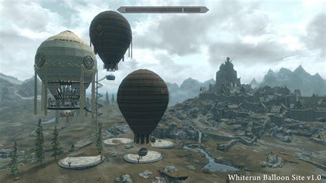 skyrim hot air balloon kit unequip whiterun balloon site 城 宮殿 skyrim mod データベース mod紹介 まとめサイト