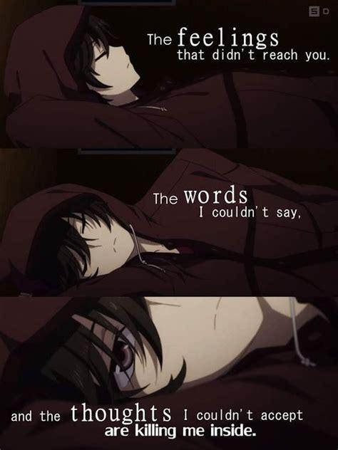 sad anime subtitles pin by moryo on quotes pinterest anime sad anime and