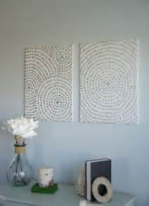 Make Wall Decorations At Home Diy Canvas Wall A Low Cost Way To Add To Your Home