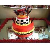 """Bizcocho De Cumplea&241os """"Cars""""  Way Cake Shop"""