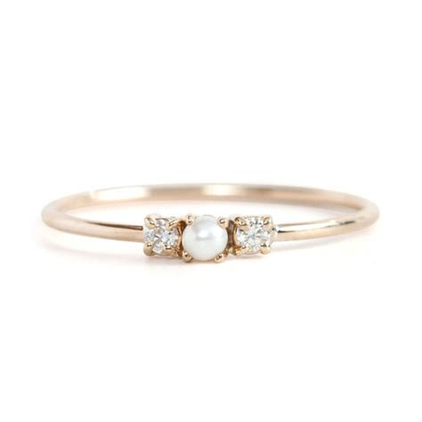 pearl ring 10 gorgeous pearl engagement rings for every of