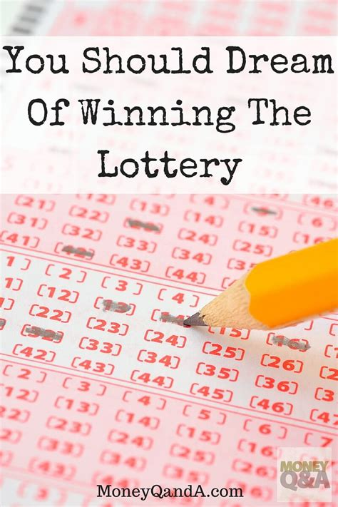 Dreams About Winning Money - why it s not a bad idea to dream of winning the lottery