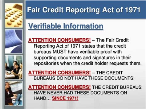 consumer law section 609 credit education dispute assistance nhsillc presentation