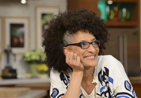Carla Hall S Hair | carla hall says at 50 it is time to embrace her gray hair