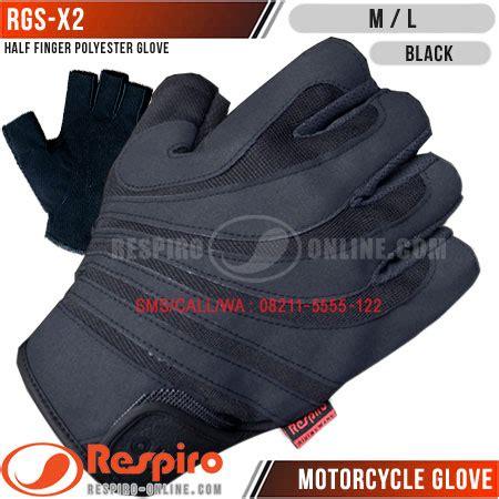 Sarung Tangan Jari Black Eagle Glove Sepeda Motor Pria T0210 1 sarung tangan respiro rgs x2 respiro