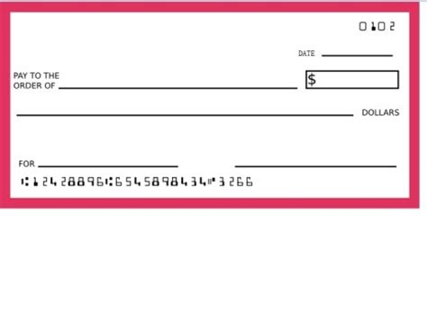 free check template blank cheque template for word autos post