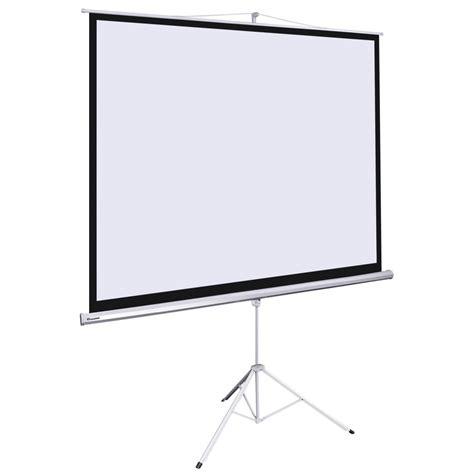 Tripod Screen 70 X 70 instahibit home manual tripod pull projector projection screen size ebay