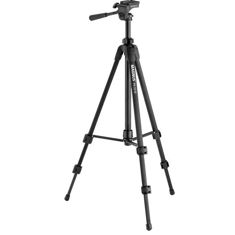 Tripod S magnus pv 3310 photo tripod with 3 way pan and tilt