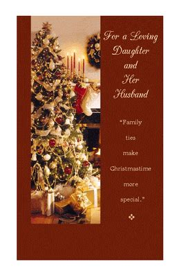 daughter  husband christmas printable card blue mountain ecards