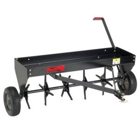 Home Depot Aerator by Brinly Hardy 40 In Tow Aerator Pa 40bh The