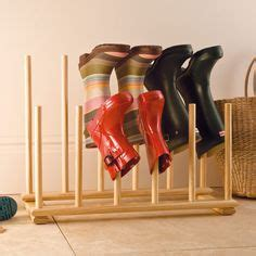 michael graves 12 pair over the door shoe organizer 9917g neat feet boot rack for 163 35 this wooden boot holder will