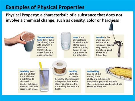Physical Properties Examples