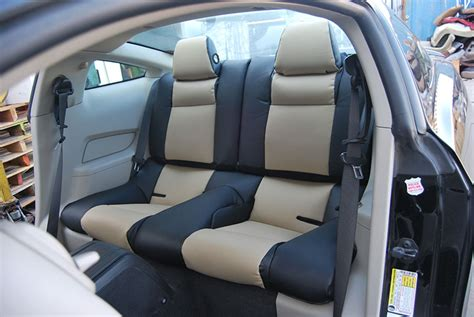 2014 mustang leather seat covers ford mustang 2005 2014 iggee s leather custom fit seat