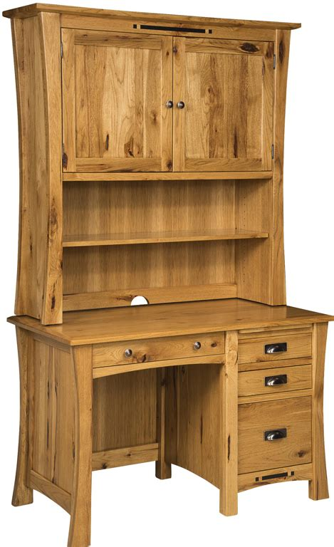 pedestal desk with hutch arts crafts pedestal desk with hutch amish furniture