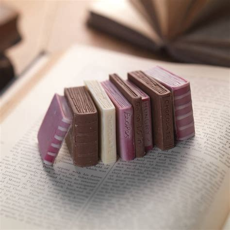 as as there is chocolate books chocolate miniature books by choc on choc