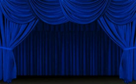 theatre stage curtains blue stage curtains www imgkid com the image kid has it