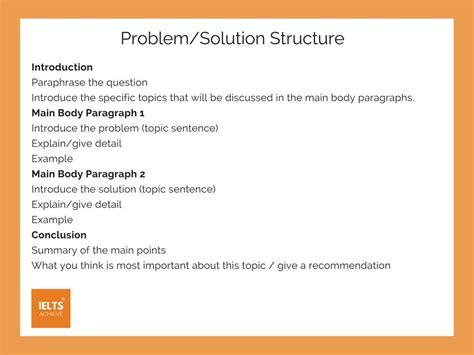 how to write a problem how to write a problem and solution essay ielts writing