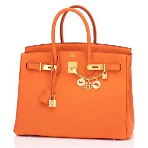 And Orange Hermes Birkin Was She Thinking by Hermes Birkin Bag 35cm Orange Gold Hardware World S Best