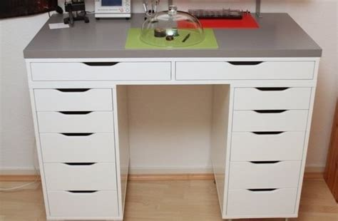 ekby alex desk hackers help how to hack this into a corner desk ikea