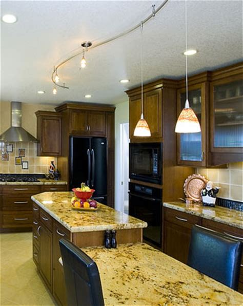 3 ideas for kitchen track lighting with different themes modern kitchens