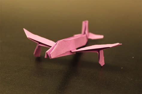 Origami Jet Plane - how to make origami airplane studio design gallery