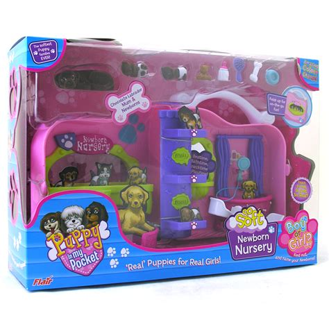 puppy in my pocket playsets puppy in my pocket so soft newborn nursery playset with figures ebay