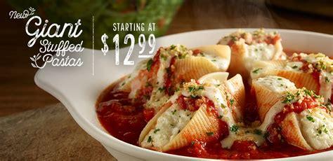 olive garden y stuffed pastas at olive garden restaurants