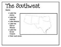 blank us map southwest region southwest region study guide study country and social