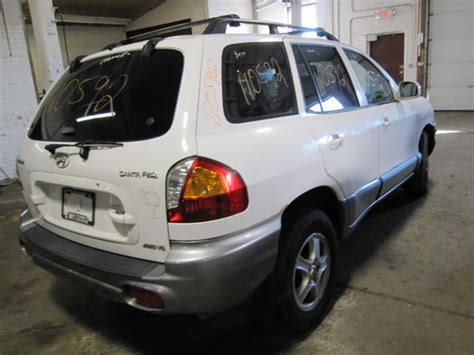 2002 hyundai santa fe parts parting out 2002 hyundai santa fe stock 110592 tom s