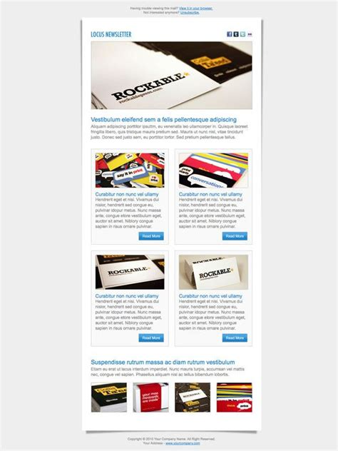 newsletter layout inspiration inspiration ressources 15 newsletters originales