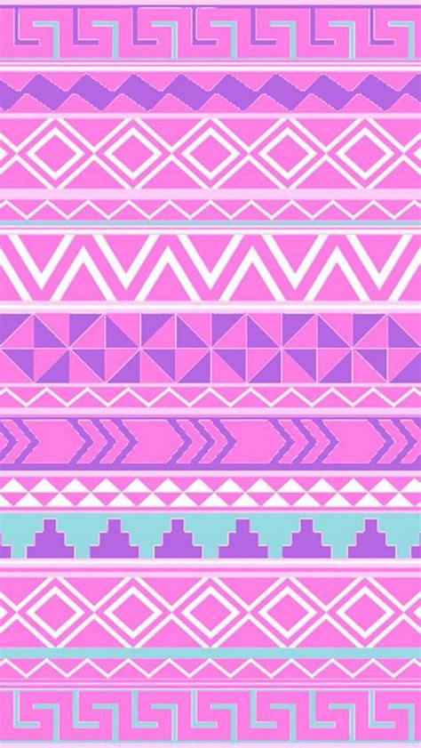 aztec pattern in pink pink and purple aztec pattern wallpaper pinterest
