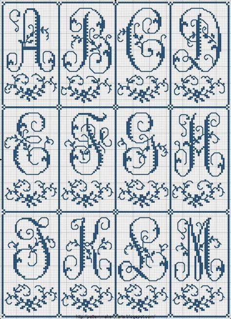pattern maker en español gratis m 225 s de 25 ideas incre 237 bles sobre letras en punto cruz en