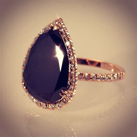 where can i buy a black engagement ring