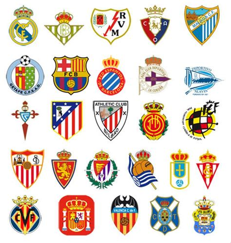 jual sticker logo club sepak bola spanyol barcelona real