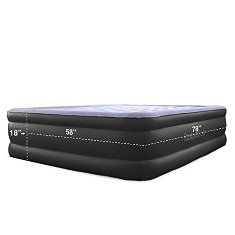 Size Air Mattress With Built In by Sleep Restoration Size Air Mattress